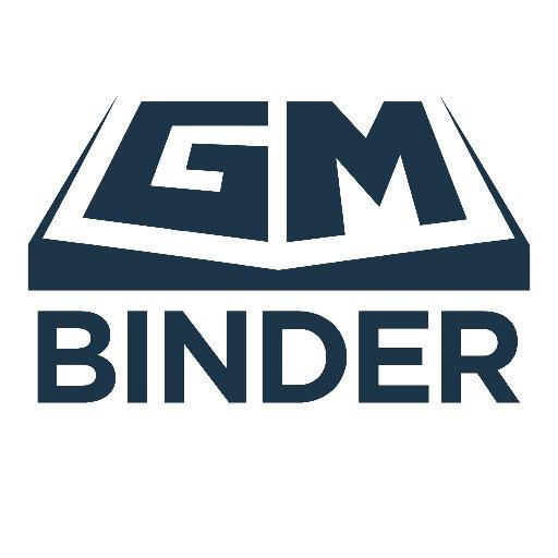 GM Binder on Twitter: