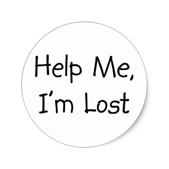 Image result for help im lost