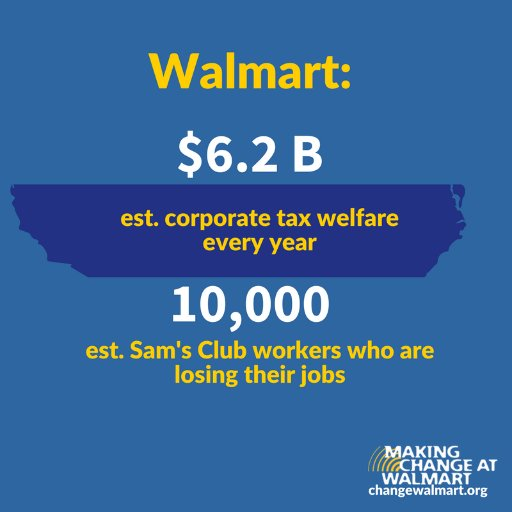 @ChangeWalmart