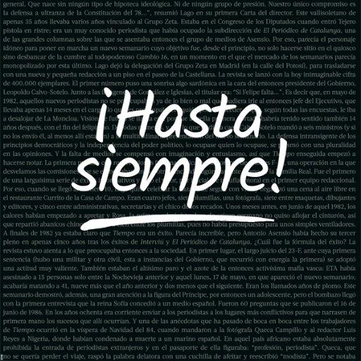 Revista TIEMPO (@tiempo )
