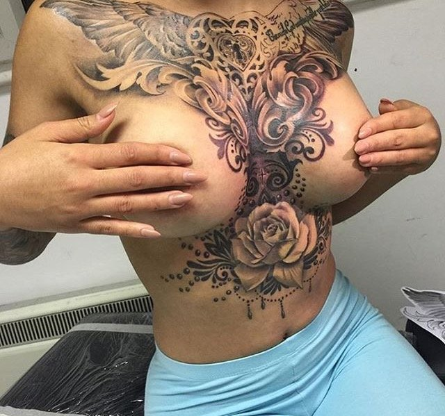 Crazy Tattoos On Twitter Man With Awesome Tattoos Of