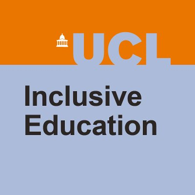 Inclusive Education Is Plus For >> Ucl Centre For Inclusive Education Senjit Ioe Twitter