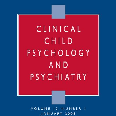 Clinical Child Psychology and Psychiatry on Twitter: