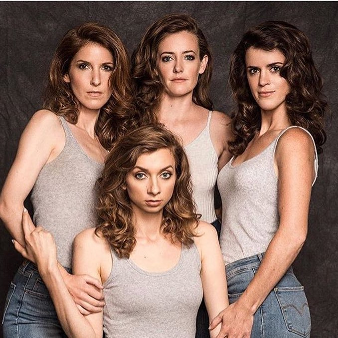 Stephanie Allynne & Mary Holland & Lauren Lapkus & Erin Whitehead. Come see us live and check out our podcast on Stitcher Premium! Insta: @wildhorsesshow