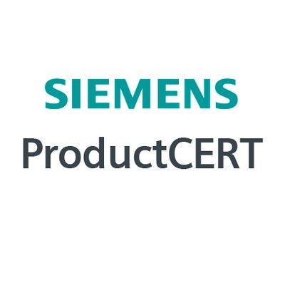 Siemens ProductCERT on Twitter: