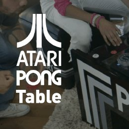ATARI Pong Coffee Table Ataripongtable Twitter - Atari coffee table