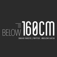 • Below160cm •