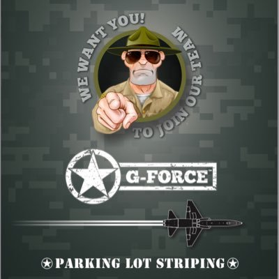 G-FORCE Parking Lot Striping