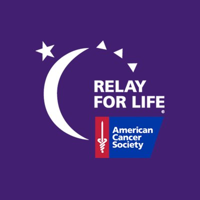 logo for relay for life stars and moon