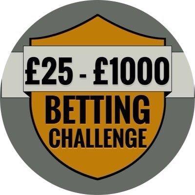25 to 1000 betting challenge twitter login bets brasil sport