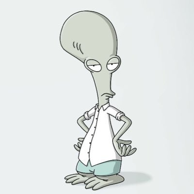 American Dad + Family Guy. Roger as Stewie   Cine & TV ...  Roger Smith American Dad