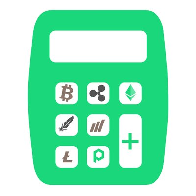 Cryptocurrency Bitcoin Ethereum Ripple Calculator
