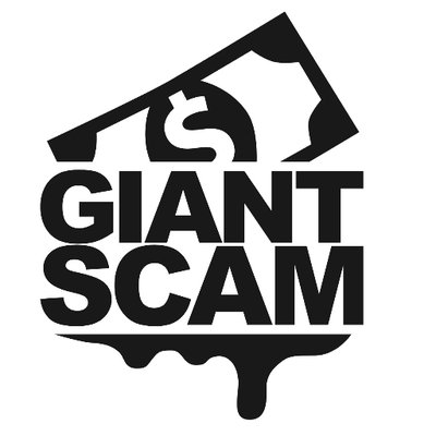 GIANT SCAM (@giantscam) Twitter profile photo