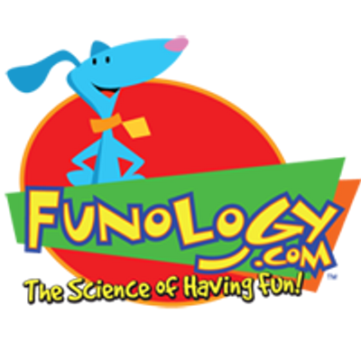 "funology Logo, ""the science of having fun"""