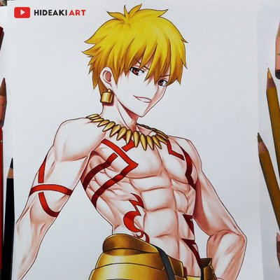 Hideaki Art On Twitter My Drawing Of Meliodas From The Seven