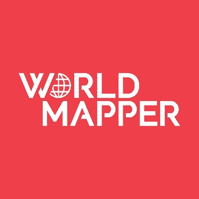 Worldmapper worldmapper twitter worldmapper sciox Images