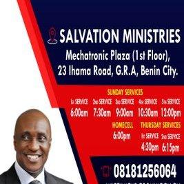 Salvation Ministries Benin-City on Twitter: