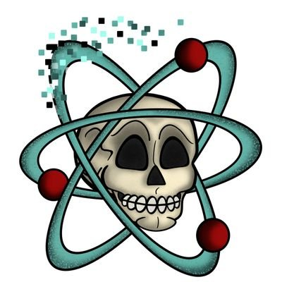 Blood splatter pixelated. Atoms p twitter newest
