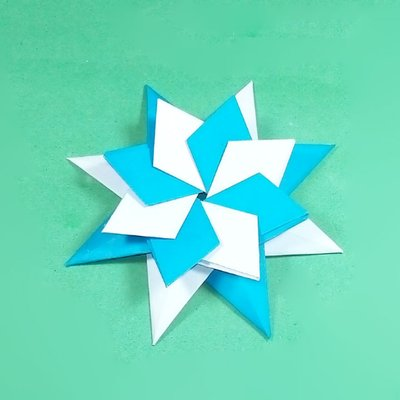 How to Make Origami Flying Birds - Friday Fun - Aunt Annie's Crafts | 400x400