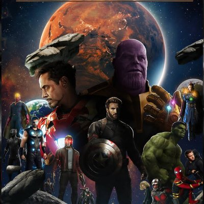 Avengers Infinity War Amiliapargas Twitter
