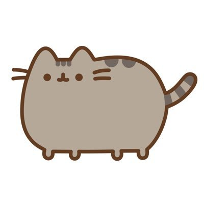 pusheen the cat on twitter tbt