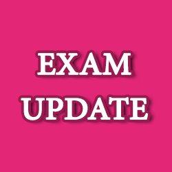 Exam Updates on Twitter:
