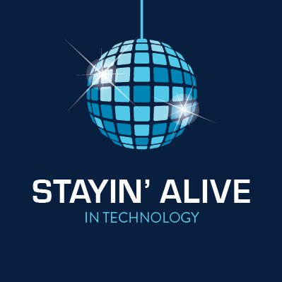 Stayin' Alive in Technology logo