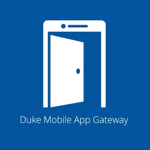 Duke Mobile App Gateway on Twitter: