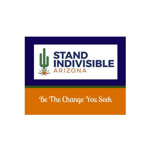 We are a grassroots, action-oriented organization in the Greater Phoenix metro area. We are affiliated with National Indivisible  but not a political party.