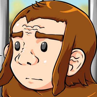 バーチャルユーチューバー 絵を描く猿