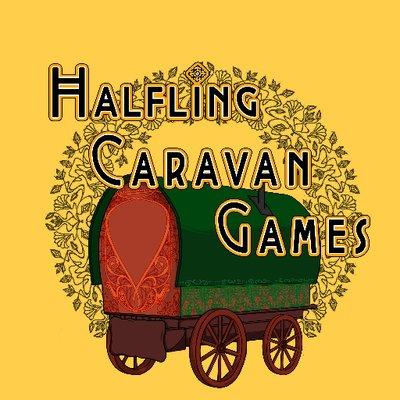 Halfling Caravan Games Logo