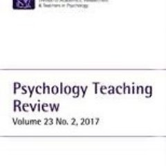 Psychology Teaching Review (@PsychTeachRev) Twitter profile photo