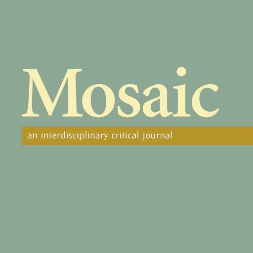 Mosaic, an interdisciplinary critical journal