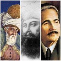 Mevlana Rumi, Sultan Bahoo & Allama Iqbal