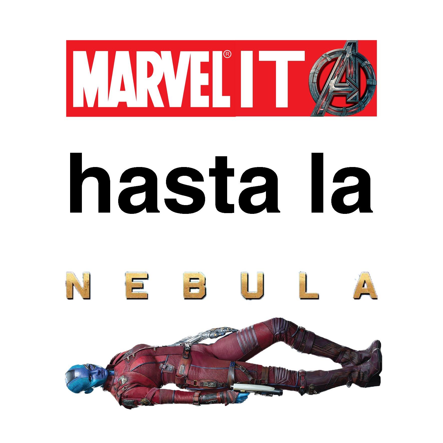 Marvelita hasta la Nébula
