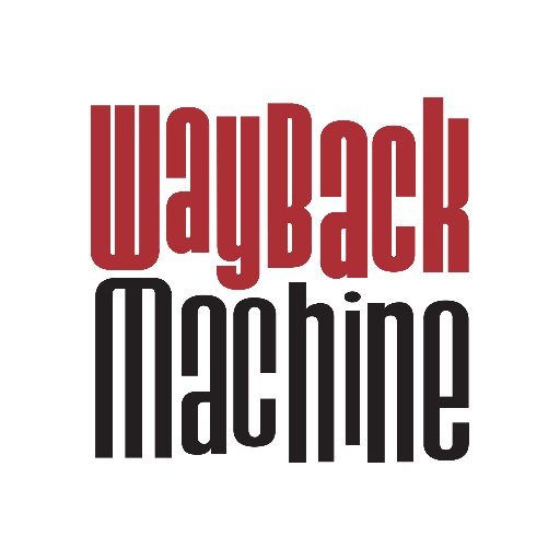 The Wayback Machine (@waybackm...