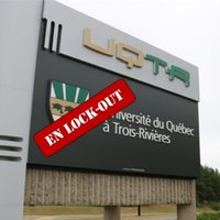 UQTR lockout information in English