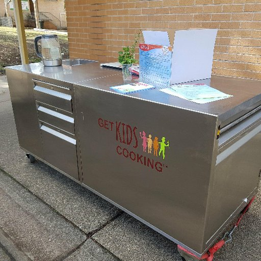 Get Kids Cooking On Twitter The Kitchen Kart A Mobile