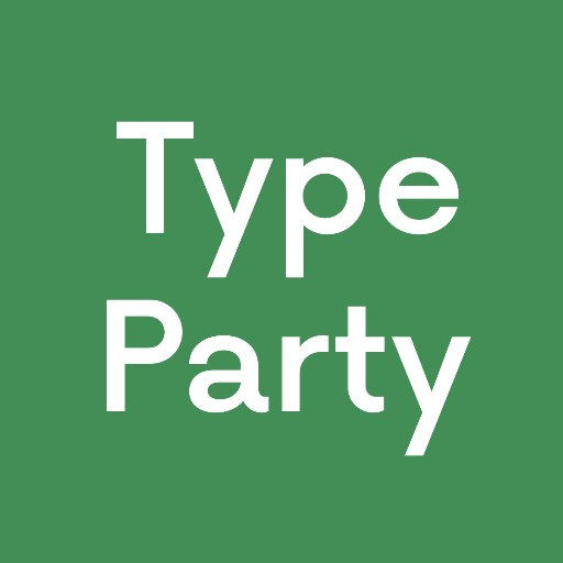 Type Party on Twitter: