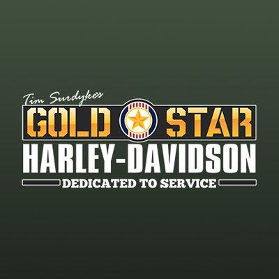Image result for gold star harley davidson logo