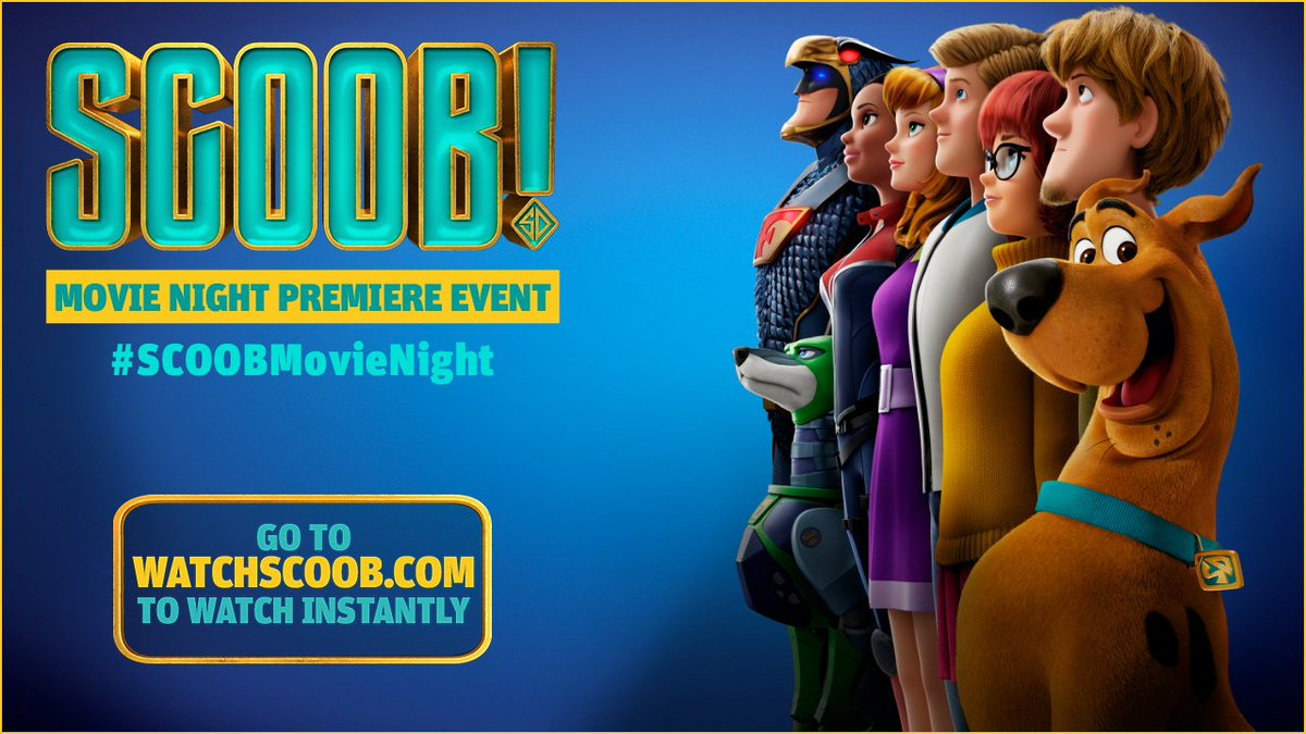 SCOOB! Movie Night Premiere Event