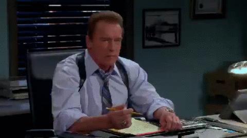 Has he tried #AngerManagement? @Schwarzenegger  #TwoAndAHalfMenFinale http://t.co/Hpf9bBmKsb