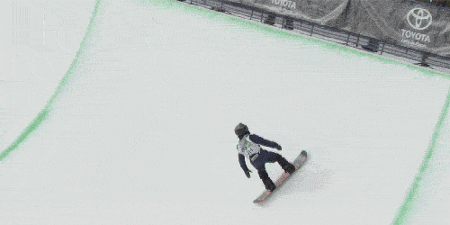 One of the bright young stars of superpipe. A slow-mo look at @AyumuB. #SlowMoSaturday http://t.co/tS3LCxiFc7