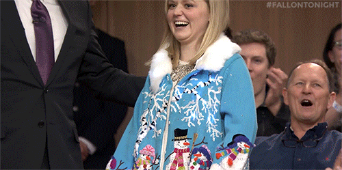 Jimmy Fallon Christmas Sweaters.Fallon Tonight On Twitter 12 Days Of Christmas Sweaters 3