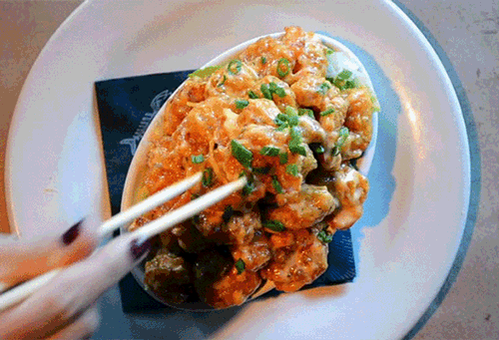 How fast can YOU make a bowl of #BangBangShrimp disappear? http://t.co/JkN4m5pWgO