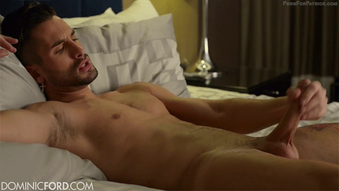 http://t.co/wxCvvnrMm2 Hot Spaniard @AndreaSurez stroking his uncut cock @DominicFord #gayporn #jakol