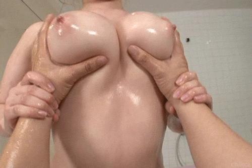 Мять большую грудь видео — pic 10
