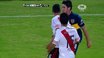 RT @BautistaCasas_: Pablo Pérez se hace el vivo contra Racing pero cuando tuvo a Ramiro en frente...  https://t.co/aCTC8GnpE8