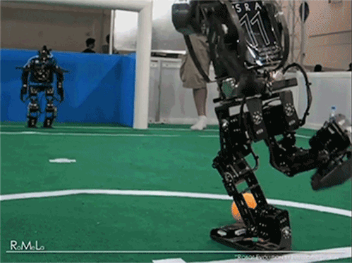 RT @AstroKatie: Cannot stop watching. RT @bexlectric: Just want to give this robot goalie a big hug #youtried http://t.co/gpaOgeDkOK