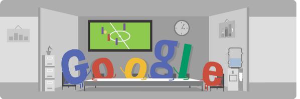 Hoje o Google acertou em cheio no seu doodle: http://t.co/dkp60ZBTIr